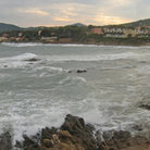 Picture - Panoramic view over the ocean of Sainte Maxime.