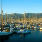 Picture - Santa Barbara Harbor.