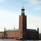 Picture - Exterior of the Stockholm City Hall.