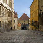 Picture - Stone Gate at the end of this street in Zagreb.
