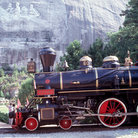 Picture - Stone Mountain RR tourist train in Atlanta.