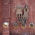Picture - An old lock on a door in Stone Town, Zanzibar.