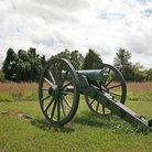 Picture - Cannon on the Stones River Battlefield, Tennessee.