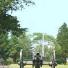Picture - Civil War cannon at Stones River National Cemetery, Murfreesboro.