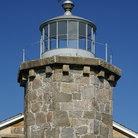 Picture - Tower of Old Stonington Harbor Lighthouse.