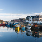 Picture - Stornoway Harbor on the Isle of Lewis.