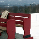 Picture - Sleigh in the snow, Stowe, Vermont.