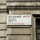 "Picture - ""The Strand"" street sign in London."
