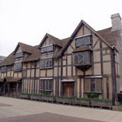 Picture - Shakespeare's birthplace in Stratford.