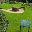Picture - The Grounds at Shakespeare's home in Stratford.