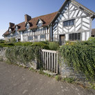 Picture - Home of William Shakespeare in Stratford-upon-Avon.