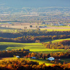 Picture - Fall colors seen from Sugarloaf Mountain.