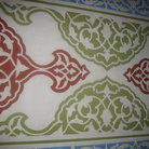 Picture - Iznik tiles in the Suleymaniye Mosque in Istanbul.