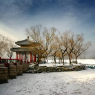 Picture - Winter at the Summer Palace in Beijing.
