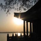 Picture - Summer Palace at sunset, Beijing.