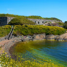 Picture - The shoreline of Suomenlinna Island.