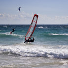 Picture - Wind surfers at Tarifa.
