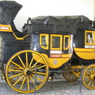Picture - The exhibit of a carriage in the Swiss National Museum in Zurich.