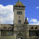 Picture - The main towers of Swiss National Museum in Zurich.