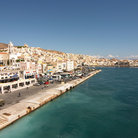 Picture - Waterfront at Syros.
