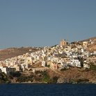 Picture - View of Syros.