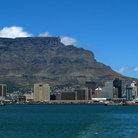 Picture - View across Table Bay at Cape Town.
