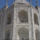 Picture - Close up view of the Taj Mahal in Agra, Delhi.