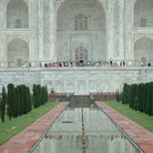 Picture - Entrance to the Taj Mahal in Agra.