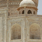Picture - Dome on the Taj Mahal, Agra.