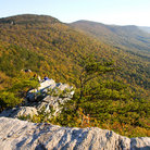 Picture - View from Cheaha State Park in Talladega National Forest.