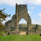 Picture - Ruins of the Talley Abbey.