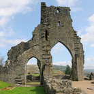 Picture - Archways of the Talley Abbey.
