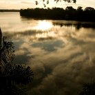 Picture - Lake Sandoval at the Tambopata National Reserve.