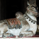 Picture - Cow carving at the Sri Meenakshi Temple in Madurai.