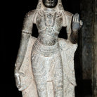 Picture - Statue at the Sri Meenakshi Temple in Madurai.