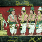 Picture - Art at the Sri Meenakshi Temple in Madurai.