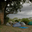 Picture - Camping at Tarangire National Park.