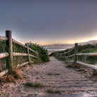 Picture - Walkway to Tathra Beach.