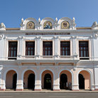 Picture - Front view of the Teatro Tomas Terry in Cienfuegos.