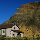 Picture - Church in Tenerife at el Teide Mountain.