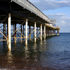 Picture - Teignmouth Pier at Devon.