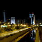 Picture - Ramat Gan at night.