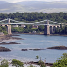 Picture - The Telford Bridge over the Menai Straight in Wales.