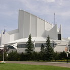Picture - Exterior view of the TELUS World of Science in Edmonton.