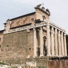 Picture - Temple of Antoninus and Faustina in Rome.