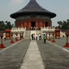 Picture - Entrance to the Temple of Heaven in Beijing.