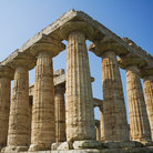 Picture - The Temple of Hera at Paestum.