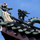 Picture - Ornate detail from the Thian Hock Keng temple in Singapore.