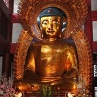 Picture - Buddha statue at the LiuRong Temple in Guangzhou.