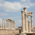 Picture - The Temple of Trajan at Pergamon.